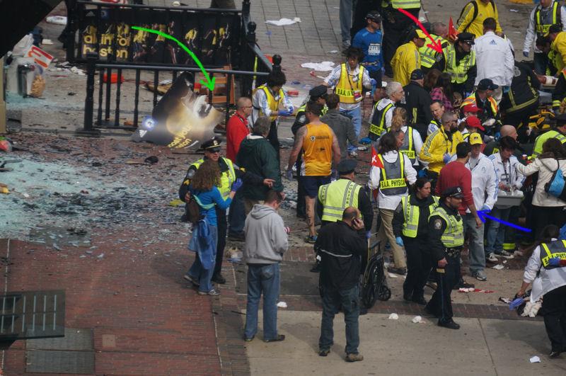 marathon de boston explosion