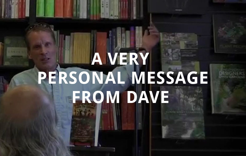 A Message from Dave