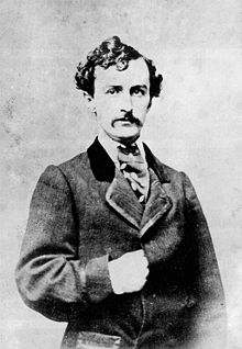 John Wilkes Booth, in a Masonic pose